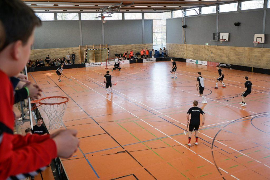Final4 Schultour: Nationalteam in Hennigsdorf