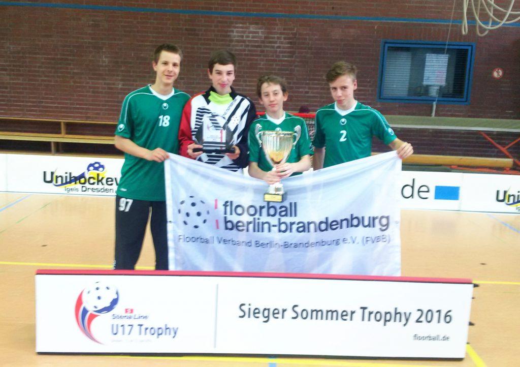 Sachsen/FVBB gewinnt U17 Trophy!