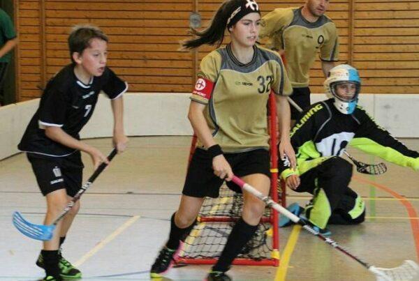 Nathalie Berger im Einsatz für den TSV Rangsdorf