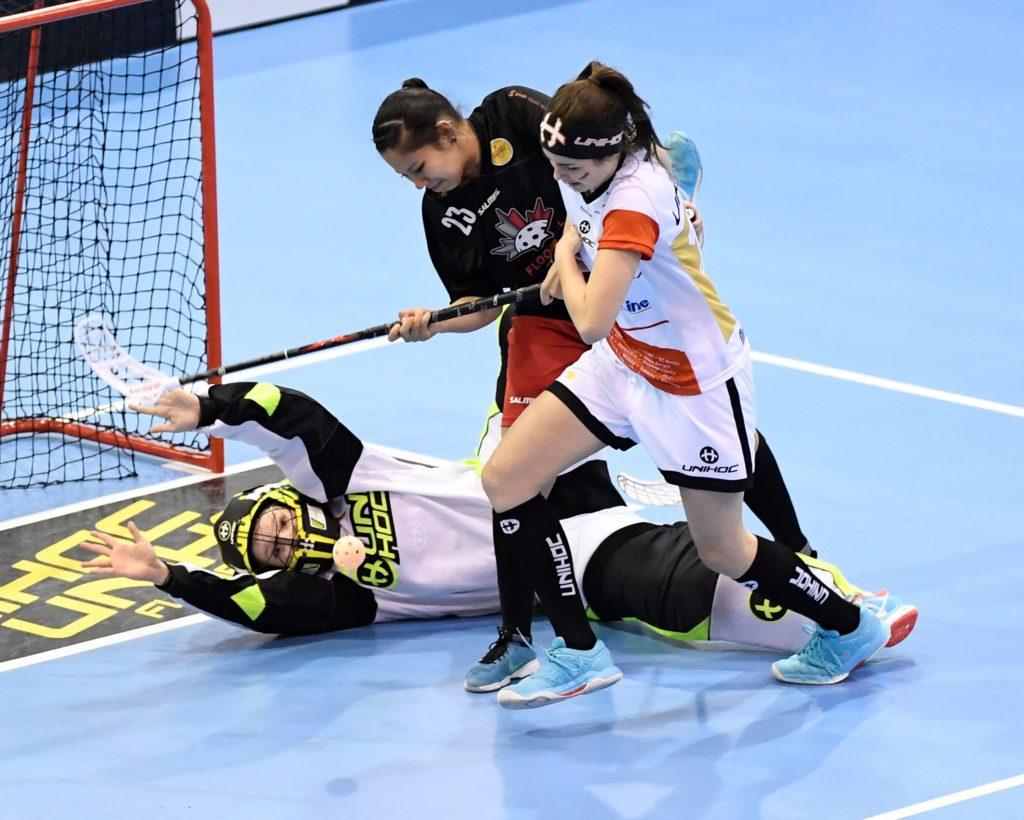 Nathalie Berger in Action im U19-WM Finale 2016